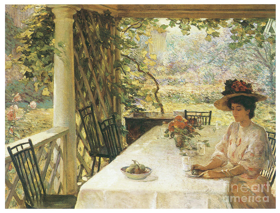 On the Porch by WILLIAM CHADWICK