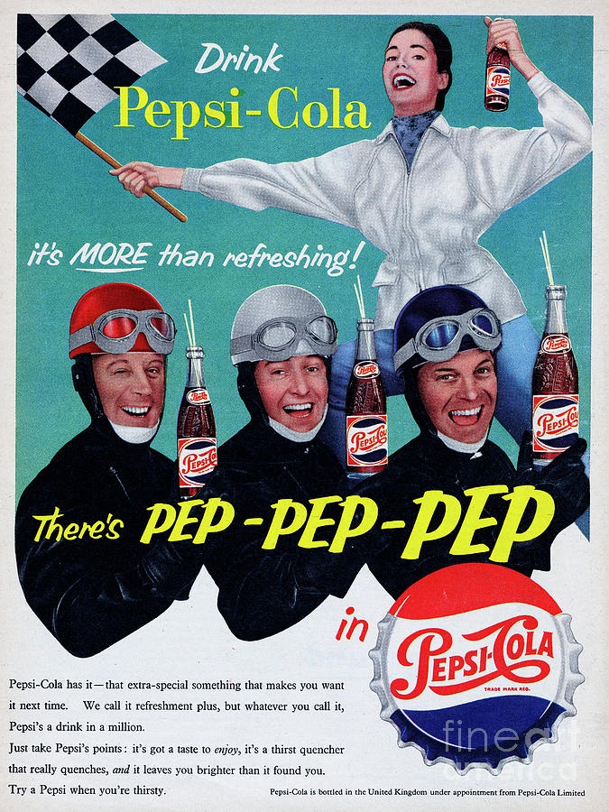 Pepsi-cola Photograph by Picture Post