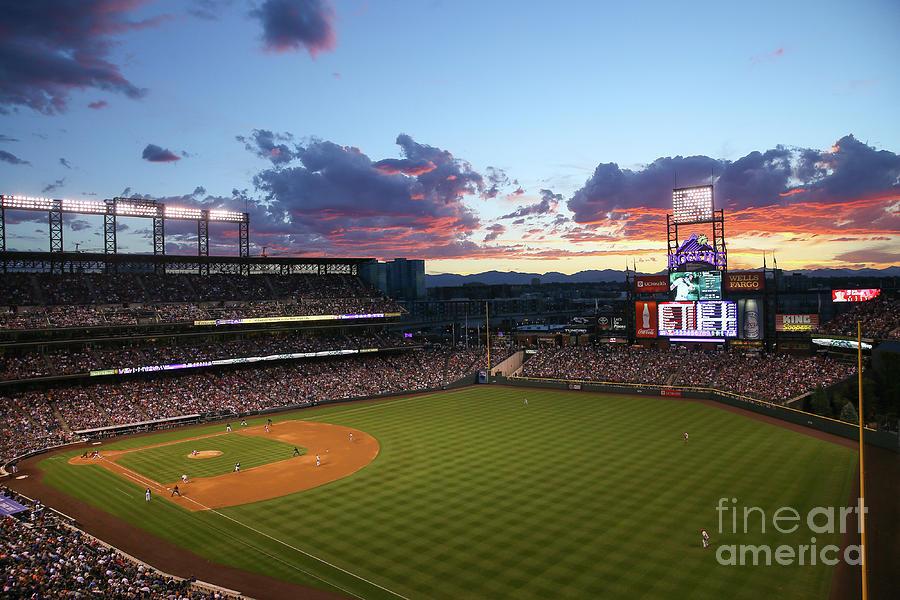 Philadelphia Phillies V Colorado Rockies Photograph by Justin Edmonds