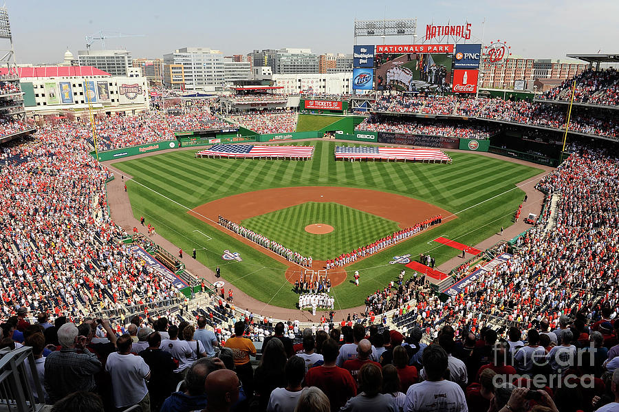 Philadelphia Phillies V Washington Photograph by Greg Fiume