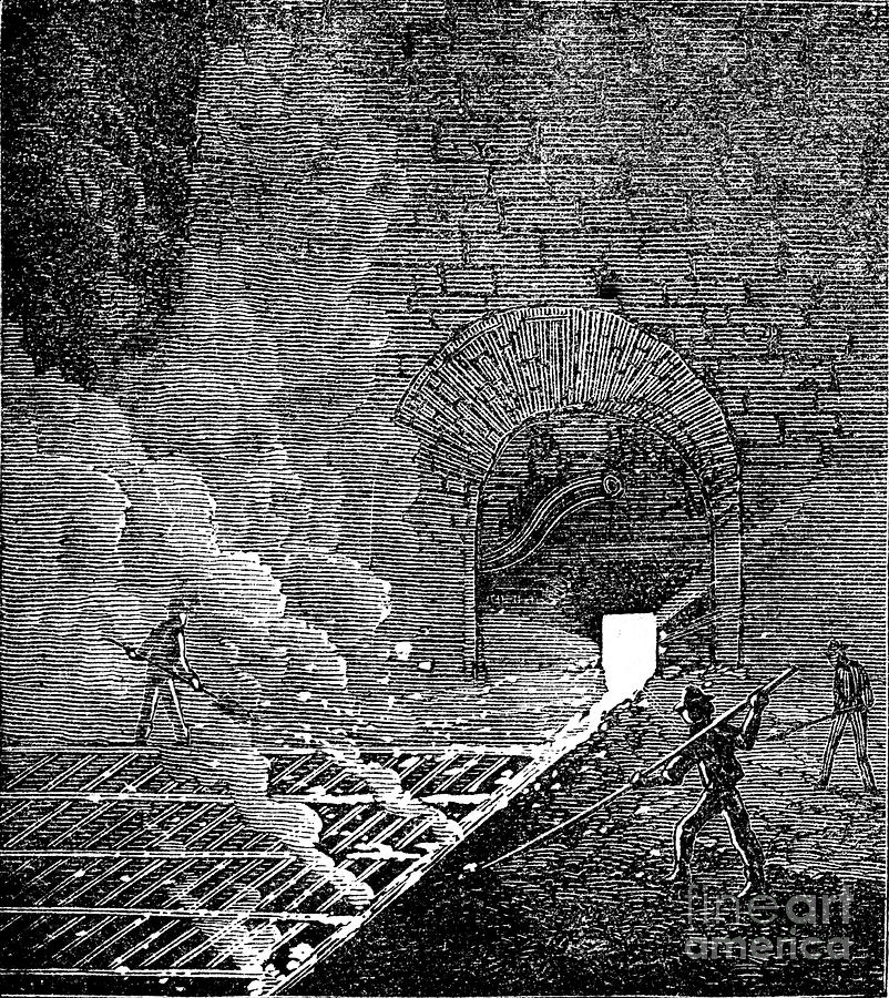 Phoenix Iron And Bridge Works Drawing by Print Collector