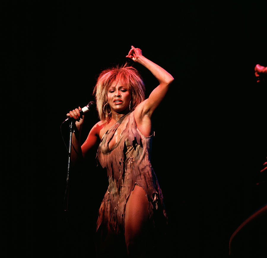 Photo Of Tina Turner 3 Photograph by David Redfern