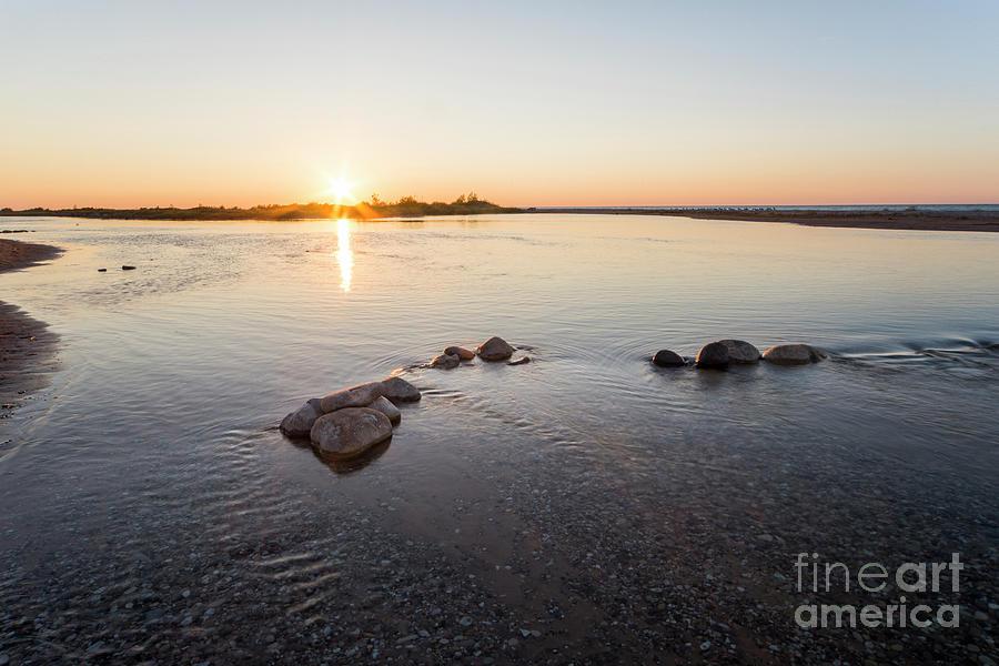 Platte River Photograph - Platte River At Dusk by Twenty Two North Photography