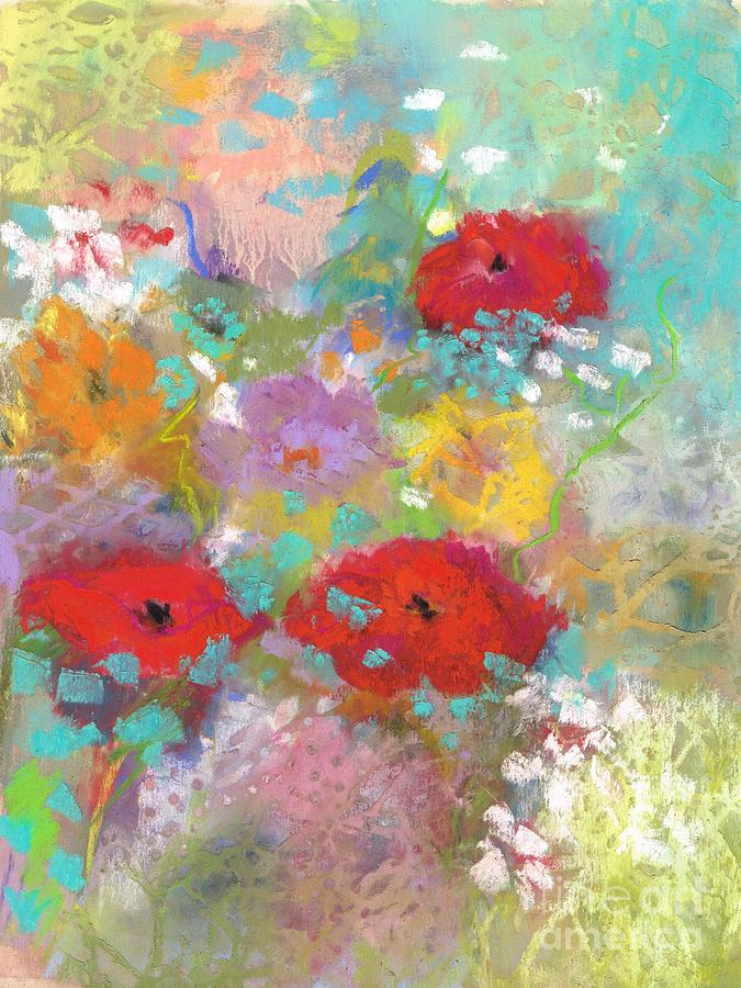 3 Poppies by Frances Marino
