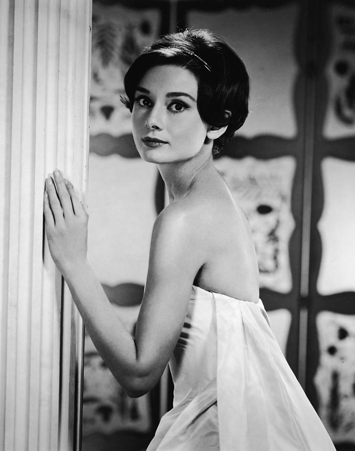 Portrait Of Audrey Hepburn 3 Photograph by Hulton Archive