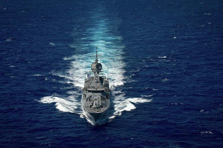 Royal Australian Navy Anzac Class by Stocktrek Images