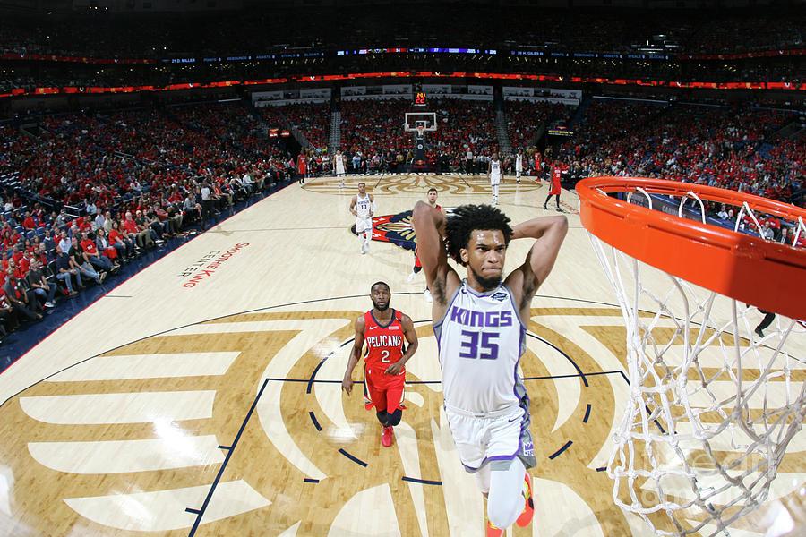 Sacramento Kings V New Orleans Pelicans Photograph by Layne Murdoch Jr.