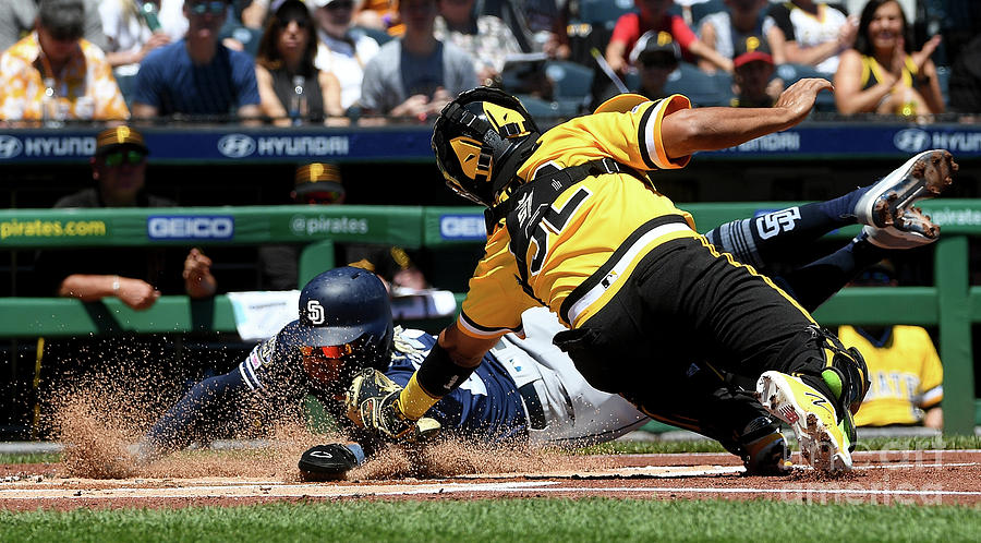 San Diego Padres V Pittsburgh Pirates 3 Photograph by Justin Berl