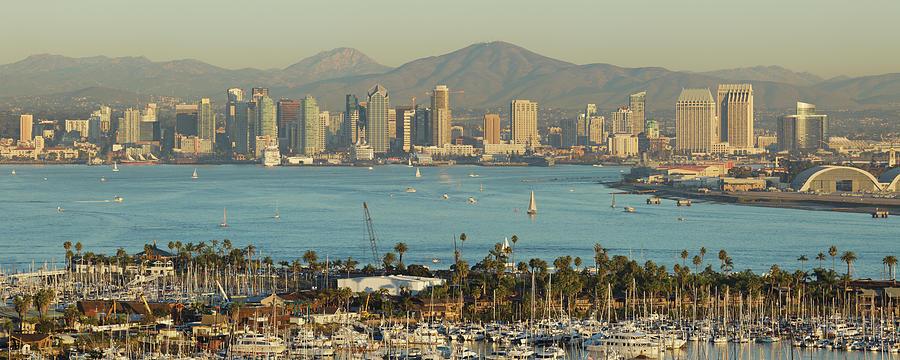 San Diego Skyline Photograph by S. Greg Panosian
