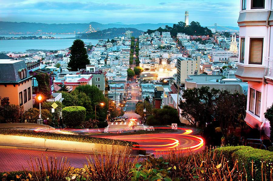San Francisco, California Photograph by Geri Lavrov