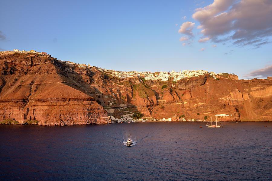 Santorini by Bill Howard