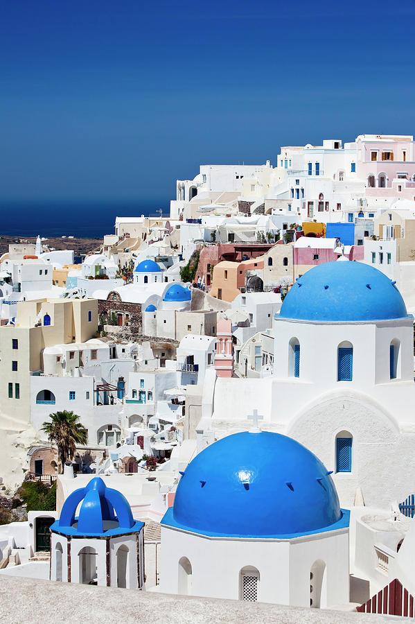 Santorini Famous Churches Photograph by Mbbirdy