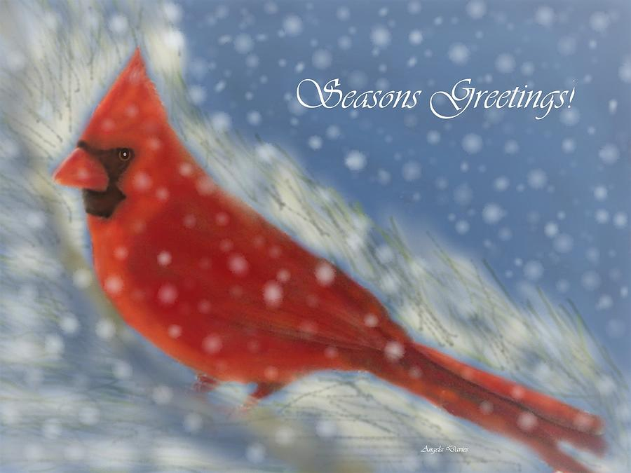 Seasons Greetings by Angela Davies