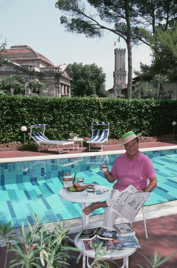 Sirio Maccioni Photograph by Slim Aarons