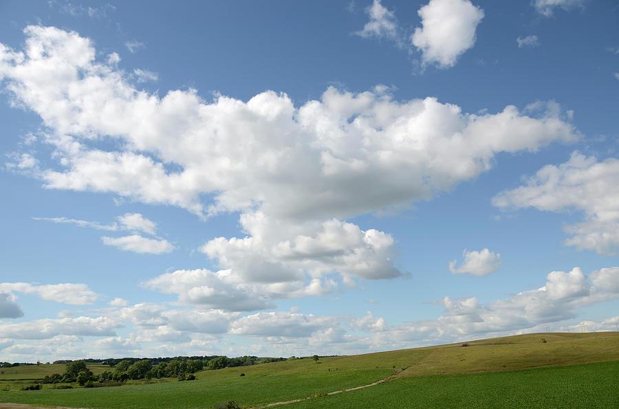 South Dakota Landscape Photograph by Rivernorthphotography