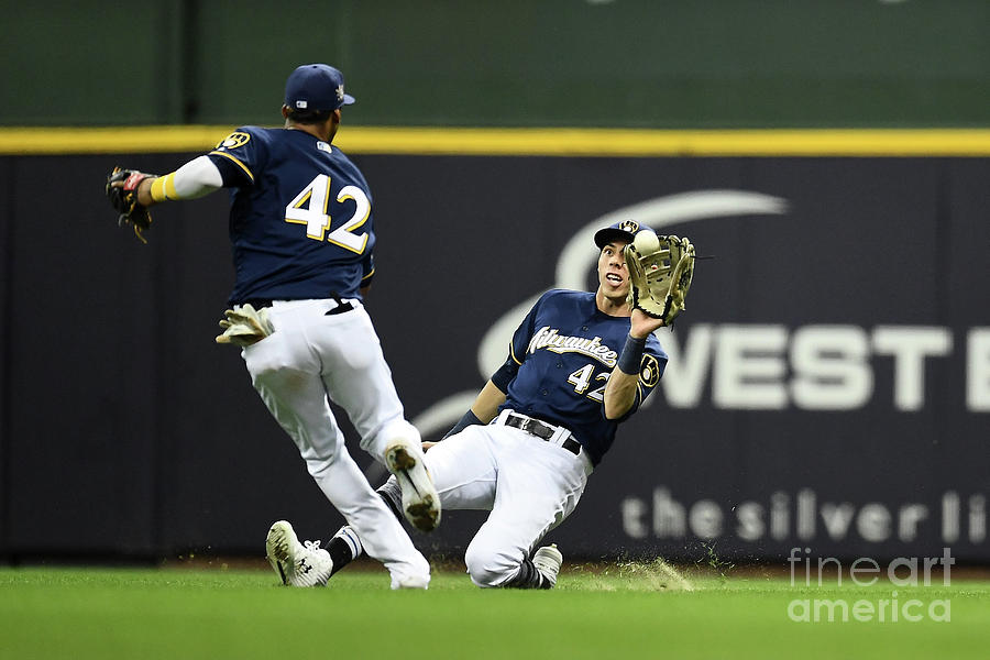 St Louis Cardinals  V Milwaukee Brewers Photograph by Stacy Revere