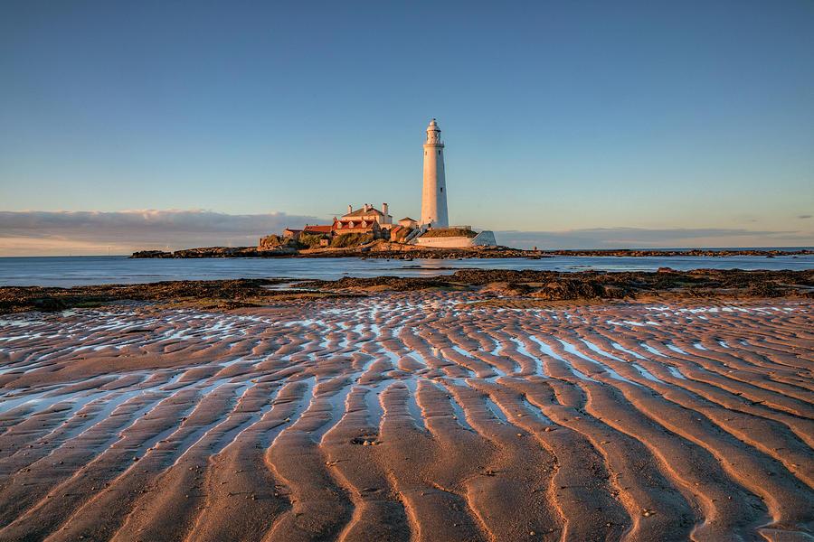 St Mary's Lighthouse - England by Joana Kruse