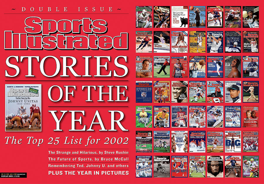 Stories Of The Year The Top 25 List For 2002... Sports Illustrated Cover Photograph by Sports Illustrated