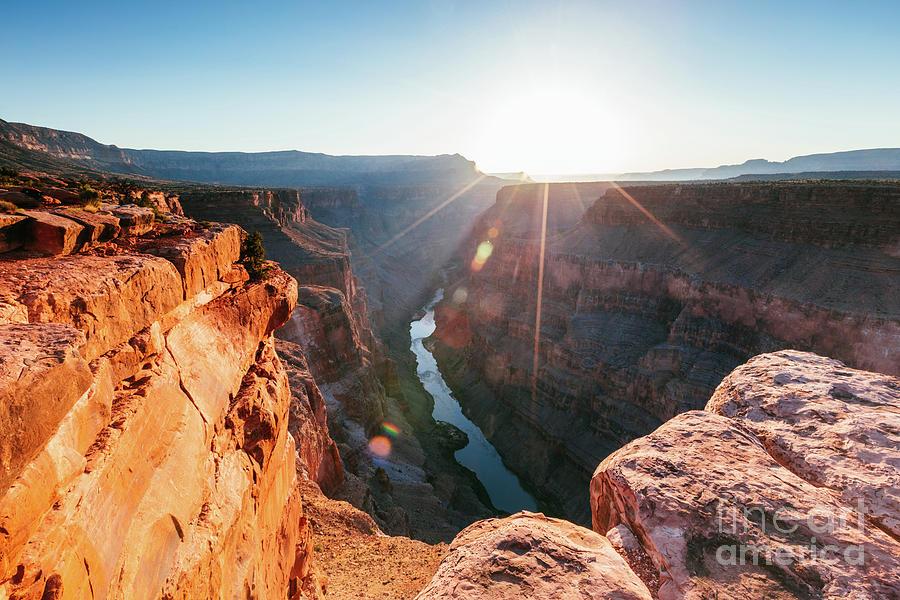 Sunrise at Toroweap point, Grand Canyon, USA by Matteo Colombo
