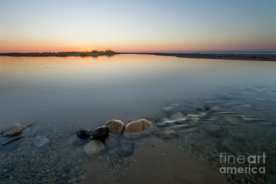Platte River Photograph - Sunset Over Platte River  by Twenty Two North Photography