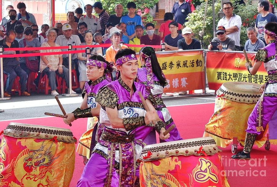 Taiwan Photograph - Taiwan Student Percussion Group by Yali Shi