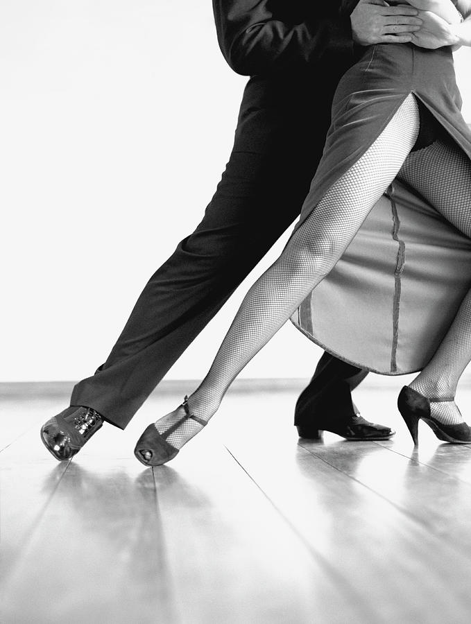 Tango Dancers Photograph by David Sacks