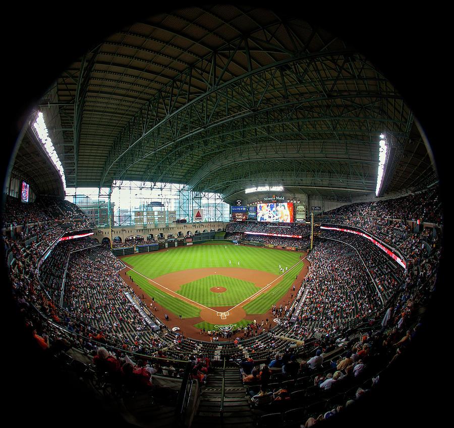 Texas Rangers V Houston Astros Photograph by Bob Levey