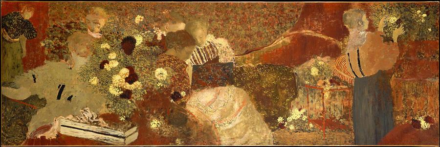 Edouard Vuillard Painting - The Album  by Edouard Vuillard