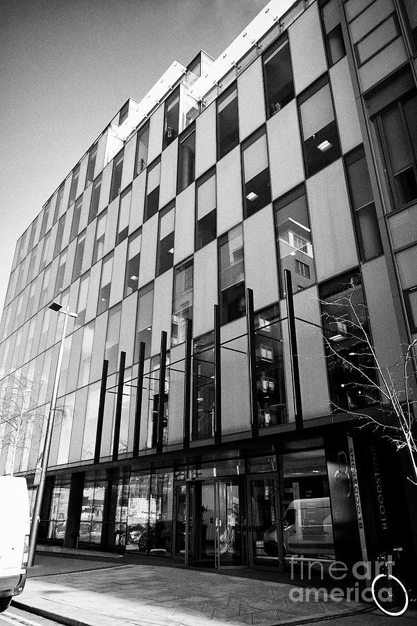 Dublin Photograph - the bloodstone building sir john rogersons quay housing tripadvisor offices and logmein office Dubli by Joe Fox