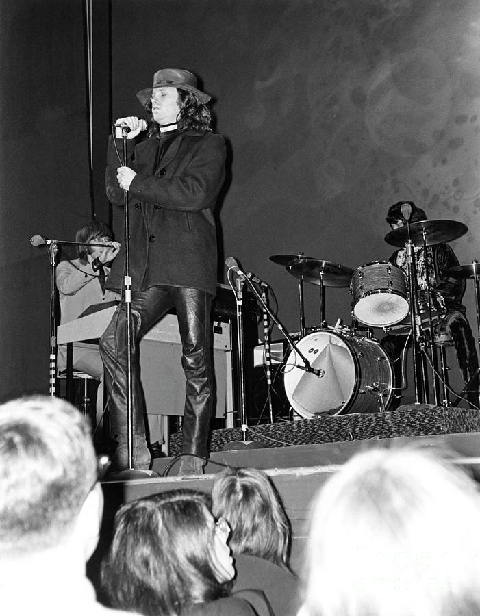 The Doors At The Fillmore East Photograph by Fred W. Mcdarrah