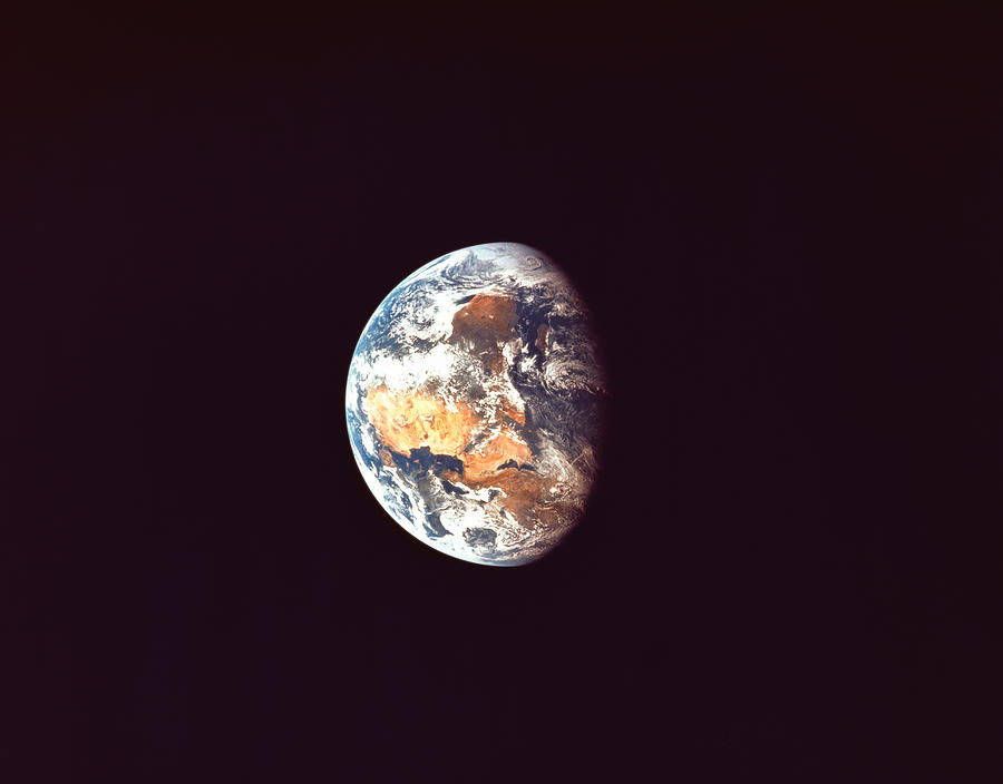 The Earth Viewed From Space Photograph by Stockbyte