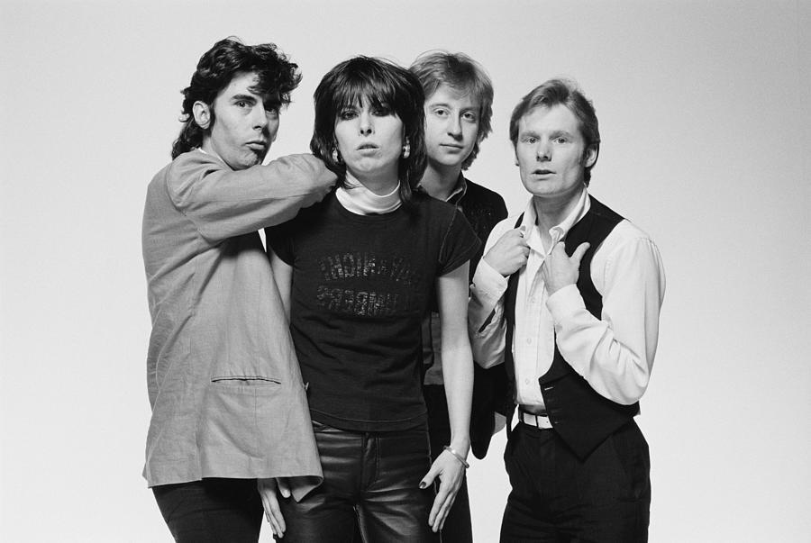 The Pretenders Photograph by Fin Costello