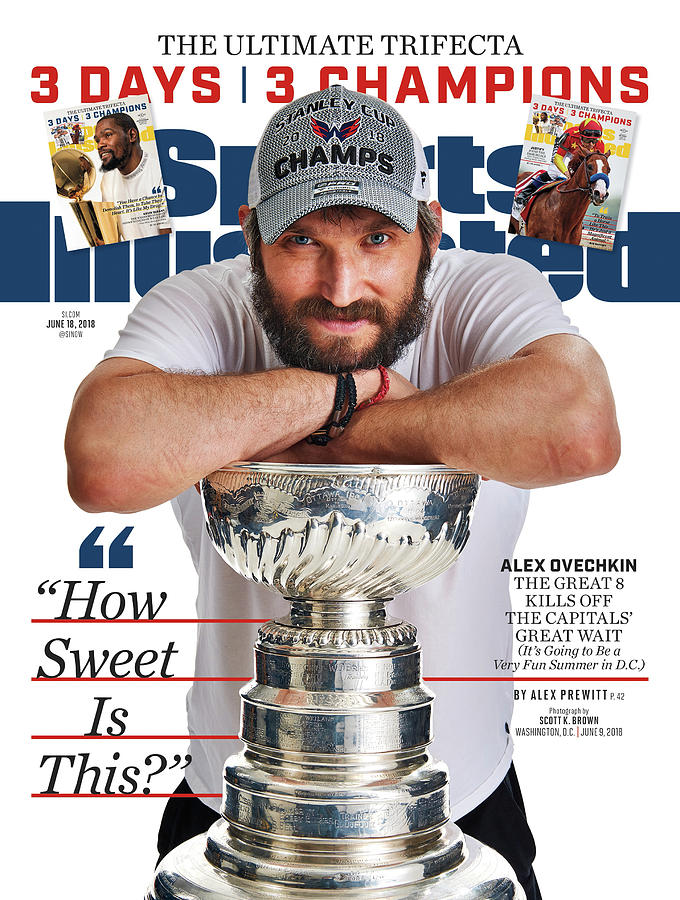 The Ultimate Trifecta 3 Days, 3 Champions Sports Illustrated Cover Photograph by Sports Illustrated