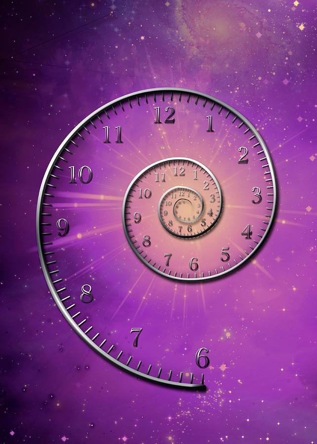 Time Digital Art