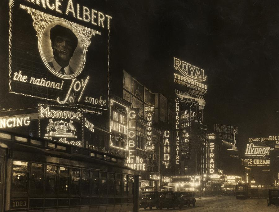 Times Square Photograph by Edwin Levick