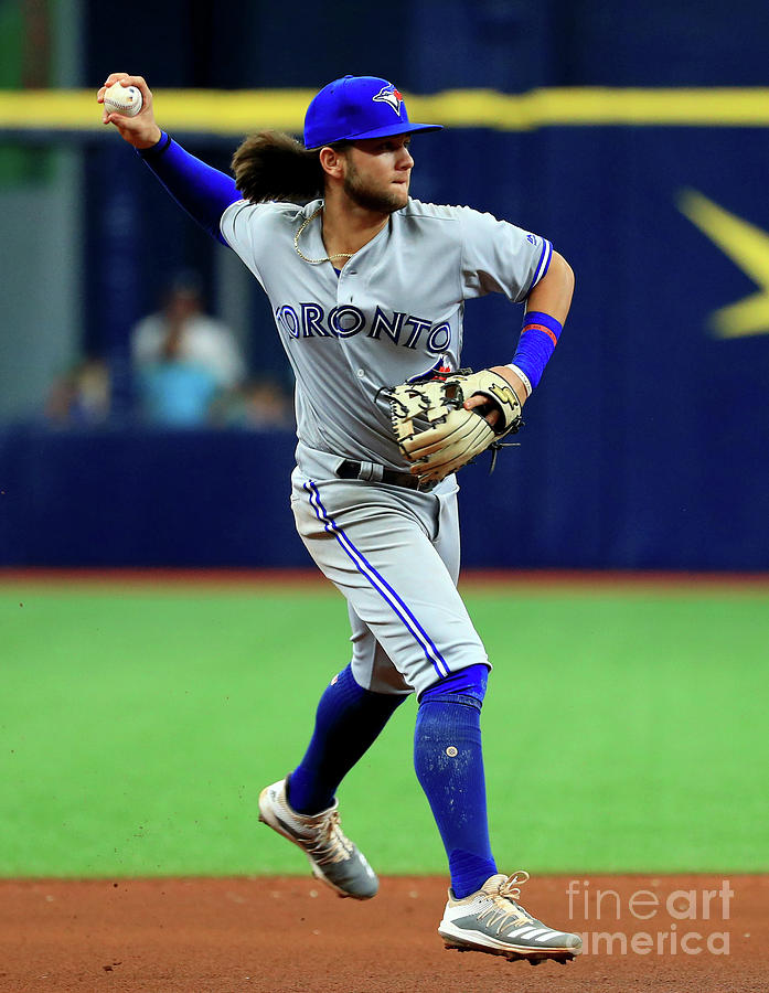 Toronto Blue Jays V Tampa Bay Rays Photograph by Mike Ehrmann