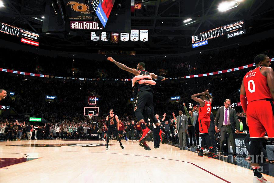 Toronto Raptors V Cleveland Cavaliers - Photograph by Jeff Haynes