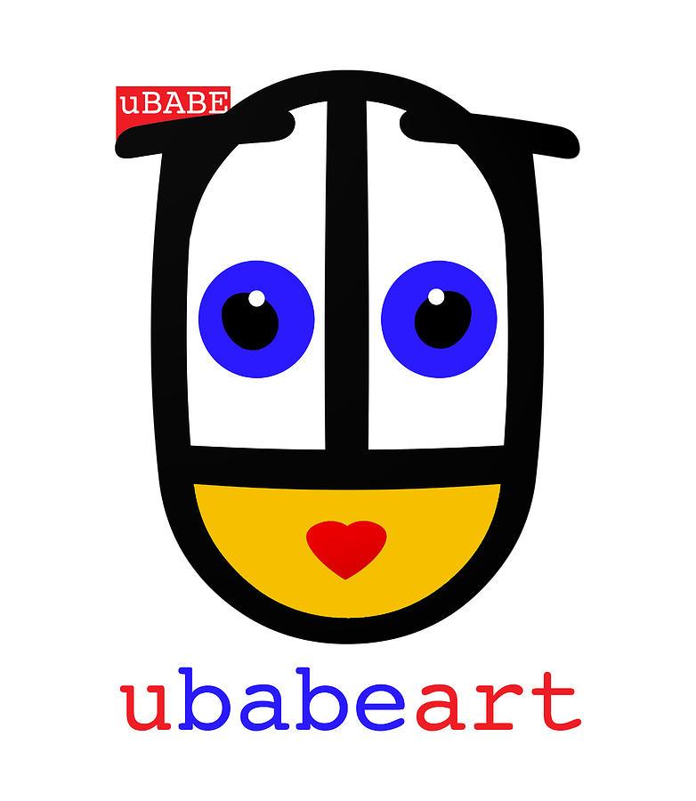 uBABE Art Digital Art by Charles Stuart