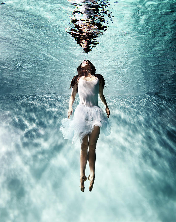 Underwater Ballet Photograph by Henrik Sorensen