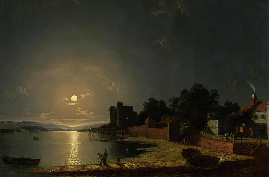 Painting Painting - Upnor Castle, Kent by Henry Pether