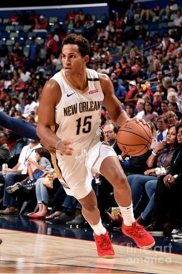 Utah Jazz V New Orleans Pelicans Photograph by Bill Baptist