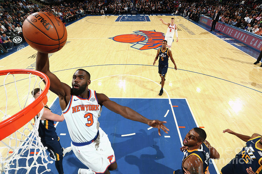 Utah Jazz V New York Knicks Photograph by Nathaniel S. Butler