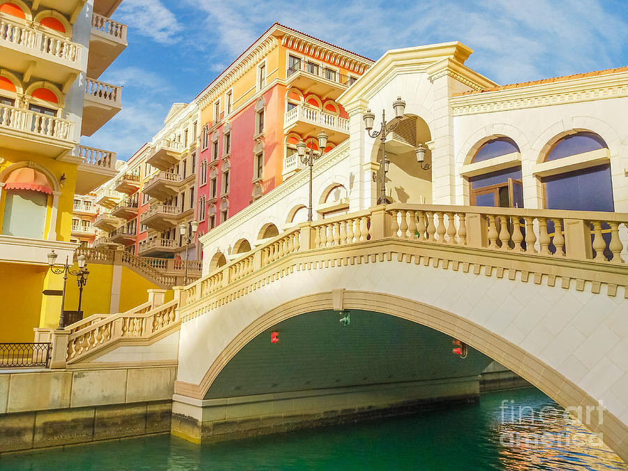Venice Doha Bridge by Benny Marty