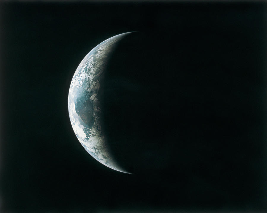 View Of The Earth From Outer Space Photograph by Stockbyte