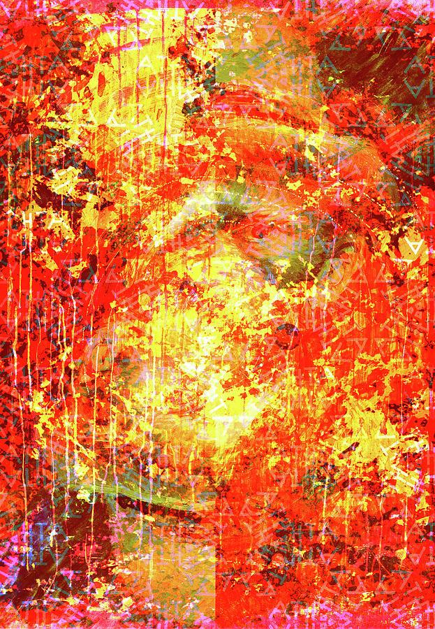 Vincent Van Gogh Chaos by Nicholas V K - Sandy Rousianou