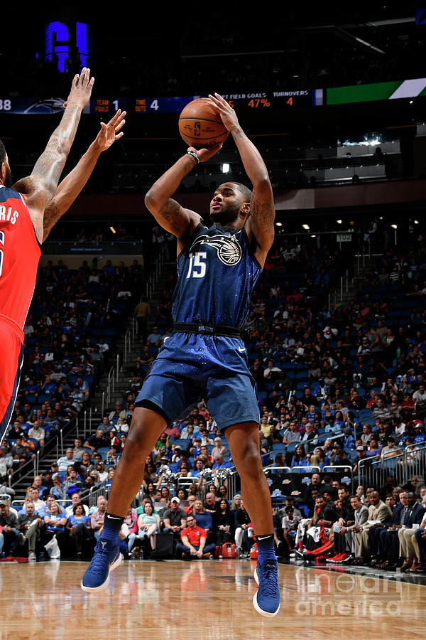 Washington Wizards V Orlando Magic Photograph by Fernando Medina