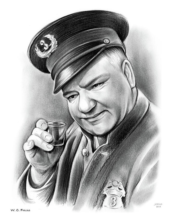 WC Fields by Greg Joens