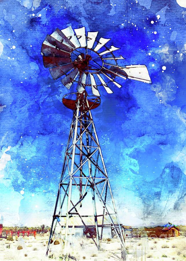 Windmill by Mark Jackson