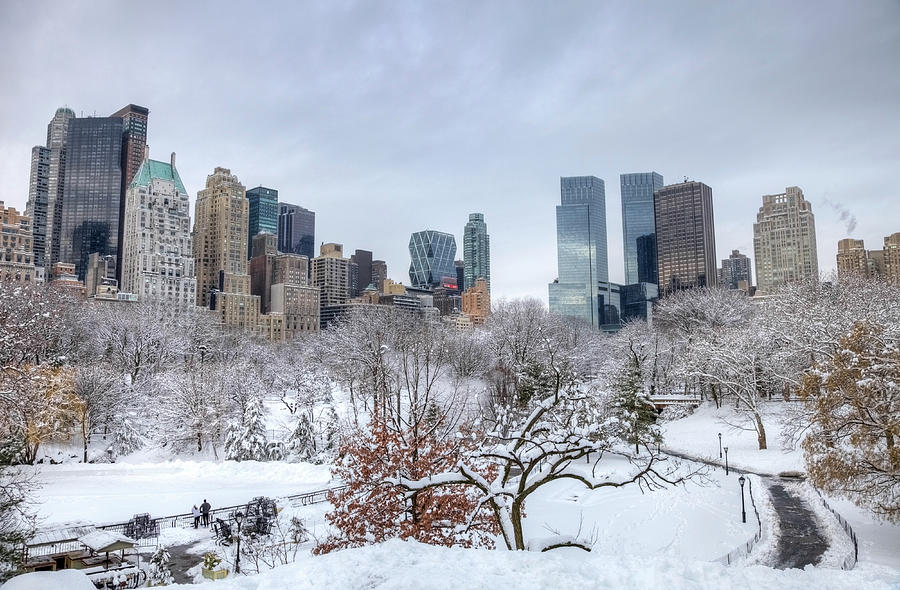 Winter In New York City Photograph by Denistangneyjr
