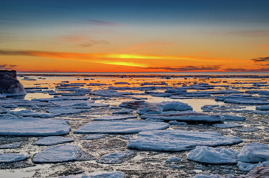 Winter Sunset by Gary McCormick